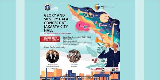 Glory & Silvery Gala Concert at Jakarta City Hall