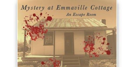 Mystery at Emmaville: An Escape Room - Friday 17/1/2020 - School Holidays  tickets