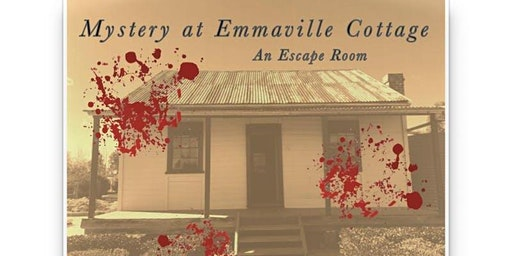 Mystery at Emmaville: An Escape Room - Friday 17/1/2020 - School Holidays