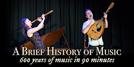 A Brief History of Music - 600 Years of Music in 90 Minutes tickets