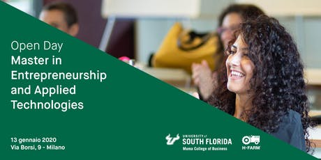 Open Day Master in Entrepreneurship and Applied Technologies tickets