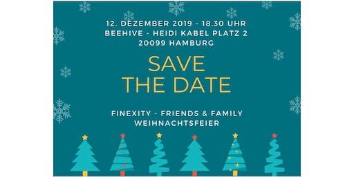 FINEXITY Friends & Family Weihnachtsfeier