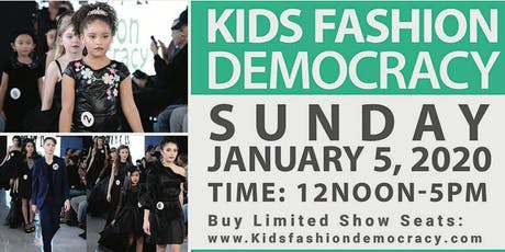 Aspiring Fashion Video/TV Host for KIDS New York City Fashion Show Interview Coverage tickets