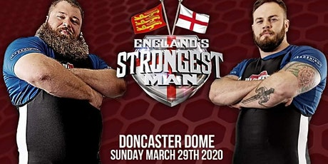England's Strongest Man 2020 tickets