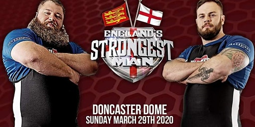 England's Strongest Man 2020