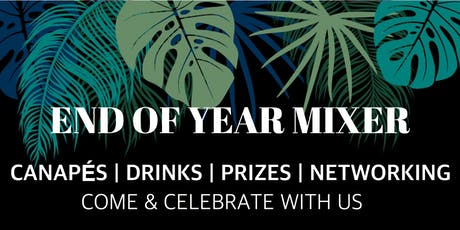 End Of Year Mixer   Canapes, Music, Speed Networking, Prizes tickets