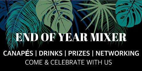 End Of Year Mixer | Canapes, Music, Speed Networking, Prizes tickets