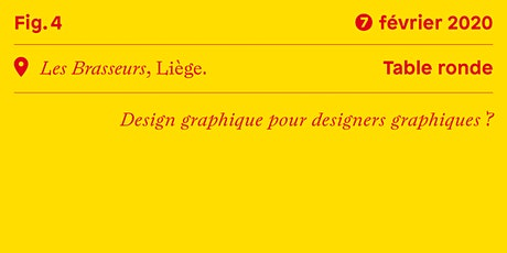 Table ronde • Design graphique pour designers graphiques? billets