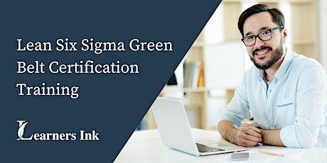 Lean Six Sigma Green Belt Certification Training Course (LSSGB) in Halifax Regional Municipality tickets