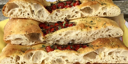 2 DAY course - Focaccia, Pizza and Ciabatta: working with highly hydrated doughs