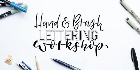 Hand- und Brushlettering Workshop für Anfänger Tickets