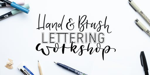Hand- und Brushlettering Workshop für Anfänger