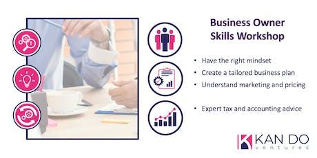 Macclesfield Business Owner Skills Workshop tickets