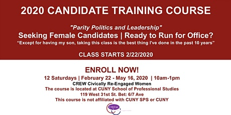 NOW AVAILABLE ONLINE CANDIDATE TRAINING COURSE tickets