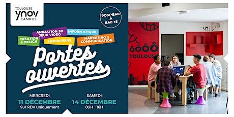 [Toulouse Ynov Campus] Portes Ouvertes - 14 Décembre billets