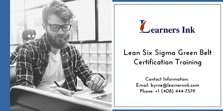Lean Six Sigma Green Belt Certification Training Course (LSSGB) in Prince George tickets