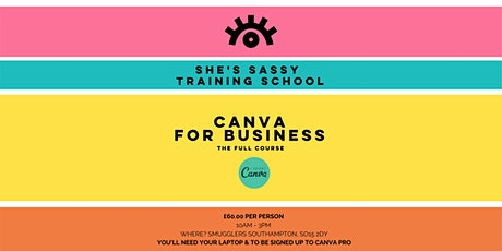 Canva for Business Training Course tickets