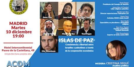 """""""Islas de Paz"""": coexistencia entre israelíes y palestinos entradas"""