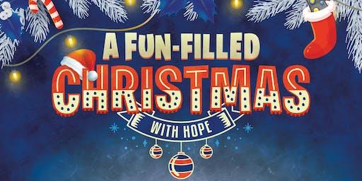Fun-filled Christmas at Hope! - Drama, VR, Basketball, Food, Kids Programme