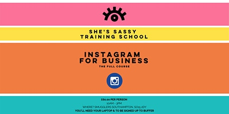 Instagram for Business Training Course tickets