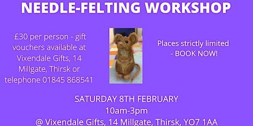 Needle-Felted Animal Workshop