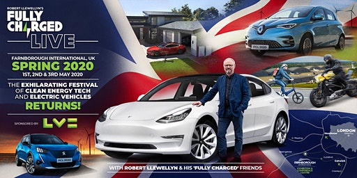 Fully Charged LIVE UK 2020 - Exhibitor Briefing