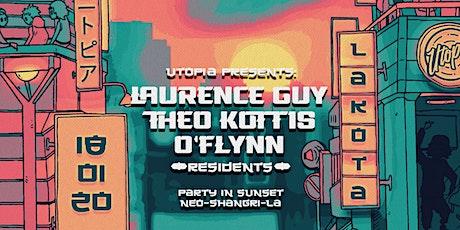 Utopia: Laurence Guy | O'Flynn | Theo Kottis tickets