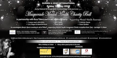 Masquerade Mental Health Charity Ball tickets