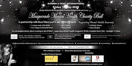 Masquerade Mental Health Charity Ball tickets