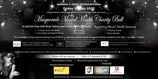 Masquerade Mental Health Charity Ball