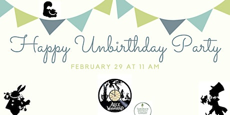 Happy Unbirthday Party tickets
