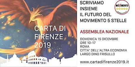Assemblea Nazionale CARTA DI FIRENZE 2019 biglietti