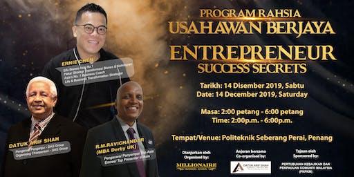 Program Rahsia Usahawan Berjaya (Entrepreneur Success Secrets)