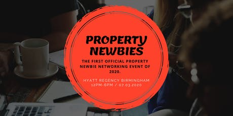 Property Newbie Networking (PNN) Event 2020 tickets