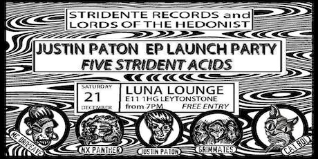 Justin Paton EP Launch Party w/ NX Panther, Grimmates, MC Driweave, Cat Boi tickets