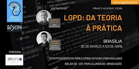 DF - LGPD: DA TEORIA À PRÁTICA - TURMA 3 bilhetes