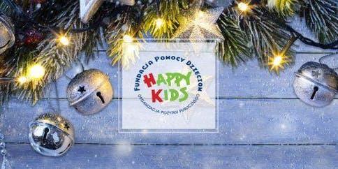 Świąteczna pomoc dla dzieci i młodzieży Fundacji Happy Kids