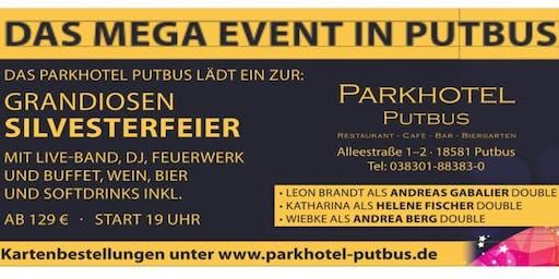 Silvester Galaabend mit Live-Band auf Rügen/Putbus