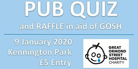 Workspace Pub Quiz and Raffle in Aid of GOSH tickets