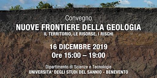 """Convegno """"Nuove frontiere della Geologia"""""""