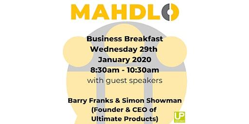 Mahdlo Business Breakfast 29th January