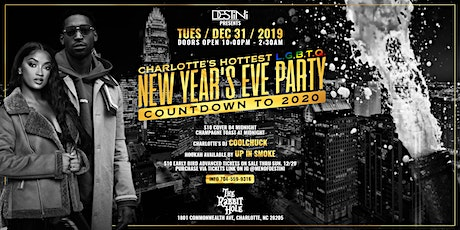 "DESTINI PRODUCTIONS' NEW YEARS EVE PARTY ""COUNTDOWN TO 2020"" tickets"