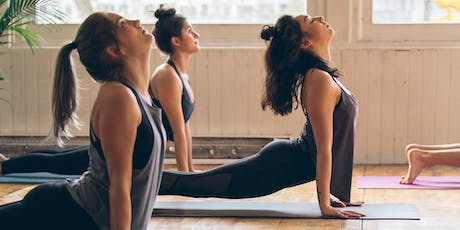 Reconnect and Stretch Lunch Break Yoga with Nancy Coffey - Practice Connection tickets