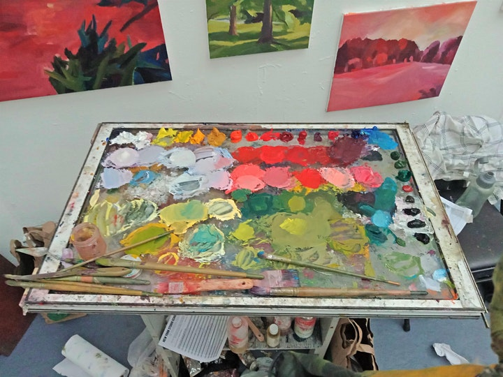 Ginny Elston - Colour in Action - Getting to Grips with Colour in Oils image