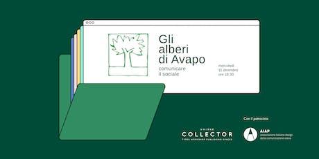 Gli alberi di Avapo. Comunicare il sociale biglietti