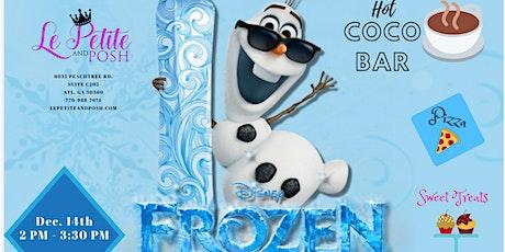 Olaf's Sip 'N' Paint tickets