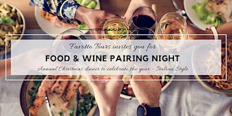Italian Food & Wine Pairing Night tickets