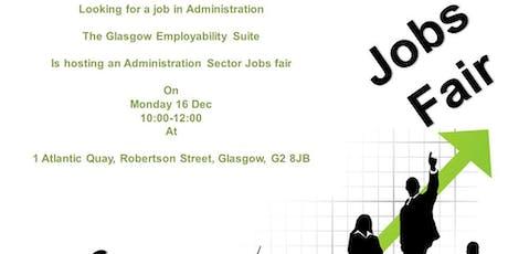 Glasgow Employability Suite Administration Jobs Fair tickets