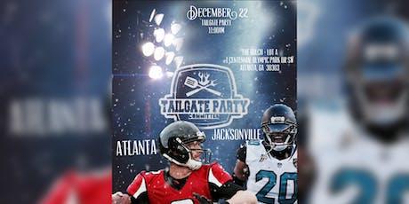 Atlanta vs Jacksonville Tailgate Party tickets