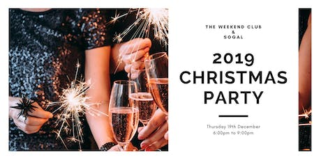 SoGal x Weekend Club Christmas Party tickets